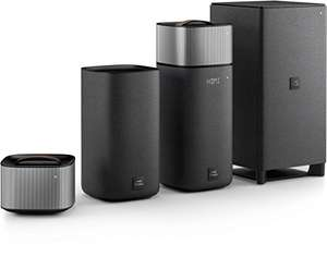 Philips Fidelio E6 Surround On Demand Kinolautsprecher (Bluetooth, Spotify Connect, HDMI ARC, Google Cast, kabelloser Subwoofer, 270 Watt)