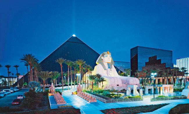5 Tage Las Vegas im Luxor Hotel für 2 Pers. ab 176 EUR (ohne Flüge)
