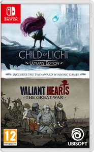 Child of Light Ultimate Edition & Valiant Hearts: The Great War (Switch) für 24,95€ (ShopTo)