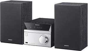 Sony CMT-SBT20 Micro-Systemanlage (Kompakte Design, CD, FM-Tuner, RDS, USB-Eingang, Bluetooth, NFC)