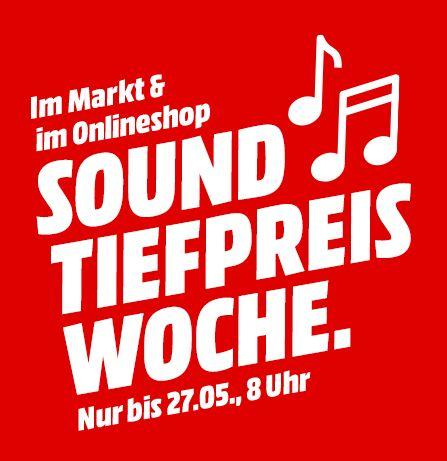 [Mediamarkt Sound-Tiefpreiswoche] Zb. 2x Sonos Play:1 für 299,-€  / JBL Free X für 99,-€ und weitere