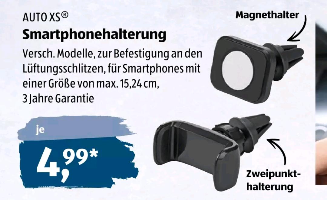 [Aldi Süd] *offline* (ab 27.5.) Smartphonehalterung fürs Auto mit 3 Jahren Garantie