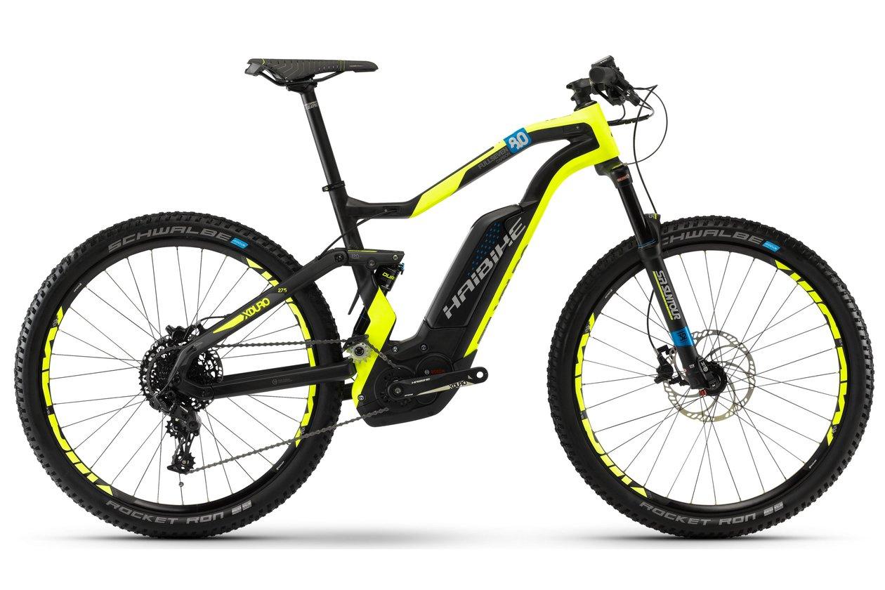 """MTB E-Bike Haibike Xduro FullSeven Carbon 8.0 (27""""5, Bosch CX, 20,5kgs) - 2018 (45cm)"""