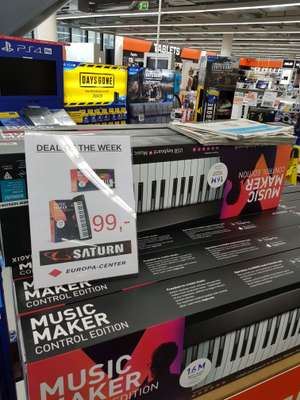 Magix Music Maker Control Edition und Music Maker Performer Edition im Saturn Berlin Europacenter.