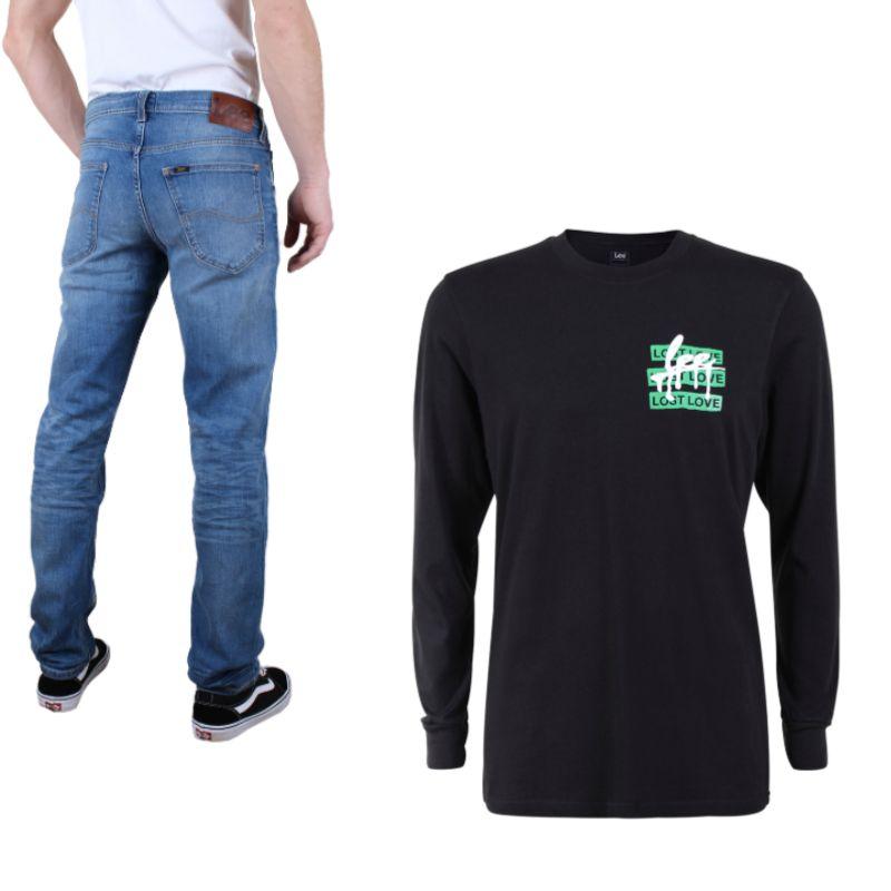 Bis zu 70% Rabatt auf Oberbekleidung von LEE + 400 Jeans & Shorts für jew. 29,95€ plus 10% + gratis Versand on top ab 3 Teilen