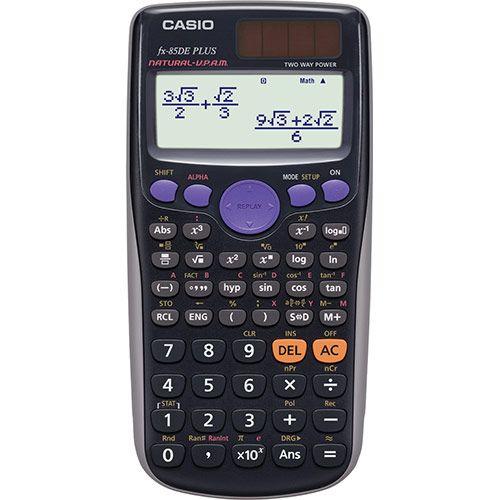 CASIO FX-85DE Solar Plus Wissenschaftlicher Taschenrechner
