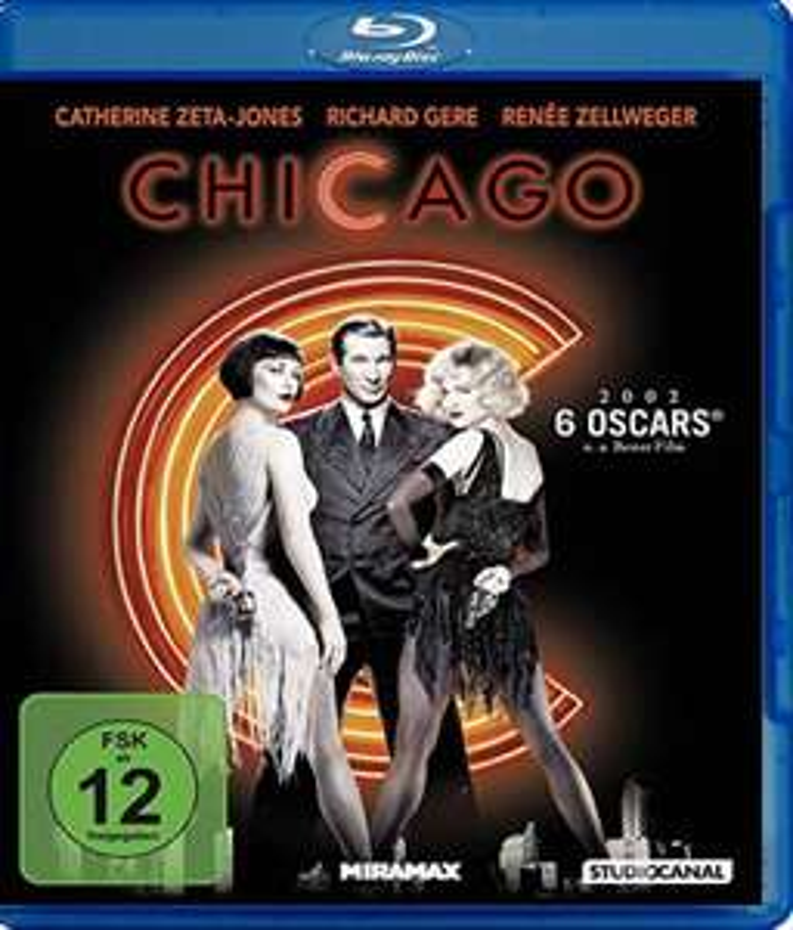 Chicago Blu-ray (mit R. Gere, R. Zellweger, C. Zeta-Jones) [Amazon Prime & Saturn Abholung).
