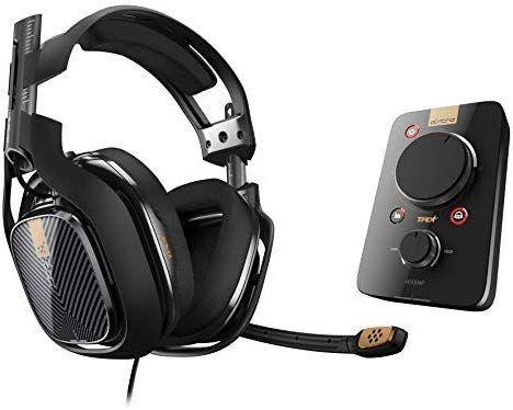 ASTRO Gaming A40 TR Headset (kabelgebunden) + MixAmp Pro TR Adapter mit Dolby 7.1 Surround Sound [Amazon]