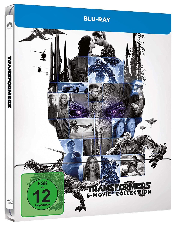 [Müller] Transformers 1-5 (Blu-ray Steelbook) für 24,99€ bei Marktabholung (nicht in allen Filialen verfügbar)