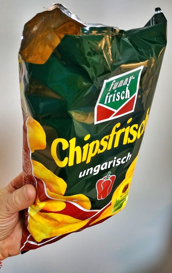 Funny-Frisch Chipsfrisch Ungarisch, Oriental, Peperoni, 175-g-Packung, bei Aldi-Süd