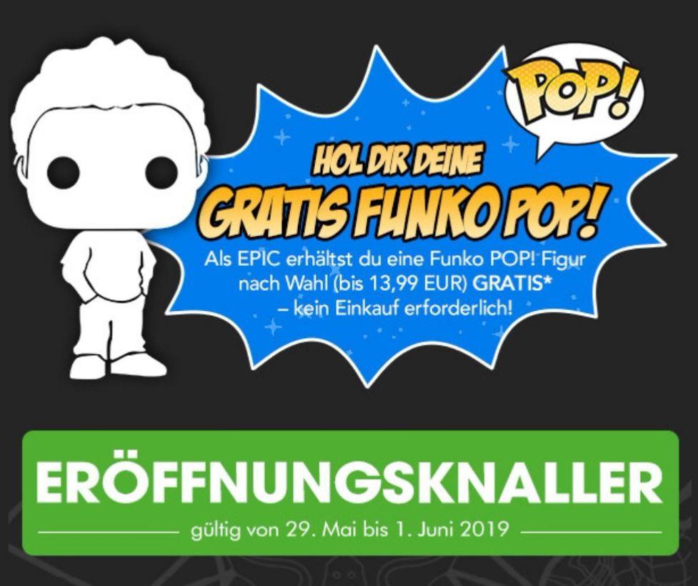 (Lokal) BERLIN-NEUKÖLLN Gamestop EPIC Kunden Funk Pop gratis