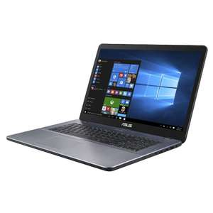 "Asus VivoBook F705UA Notebook - 17"" FHD matt, i5-8250U, 8 GB DDR4  RAM, 256 GB SSD, GBit-LAN, Wlan ac, Windows 10 für 499€ (Amazon)"
