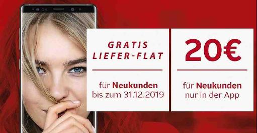 20€ Otto Neukunden Gutschein mit 50€ MBW + 1 Jahr Lieferflat gratis