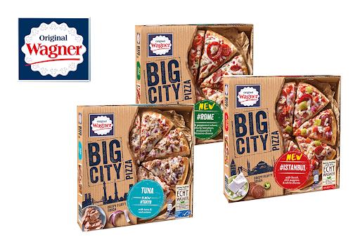 [ Penny & tegut bundesweit bis 25.05 ] Wagner Big City Pizza div. Sorten für 1,99€ + 0,75€ Cashback von Scondoo (entspr. 1,24€ pro Pizza)