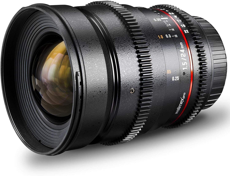 Walimex Pro 24mm T1.5 VDSLR für Sony E-Mount