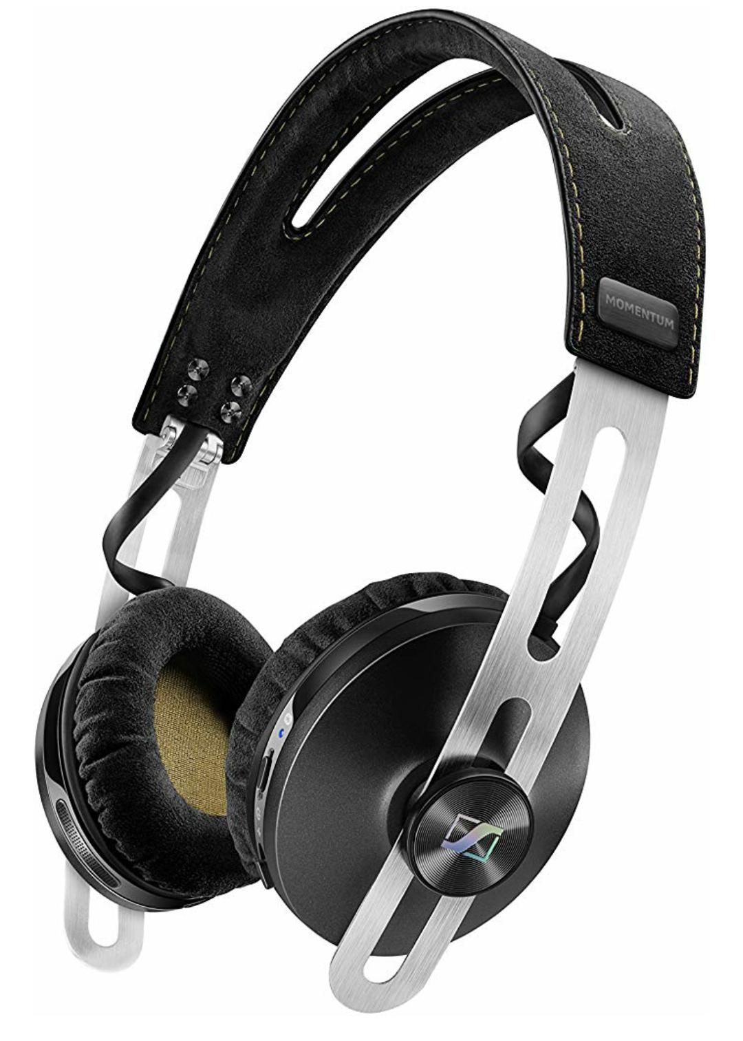 Sennheiser Momentum 2.0 Wireless On-Ear Active Noise Canceling Kopfhörer, Bluetooth 4.0, NFC // Over-Ear für 193,01€ statt 249€