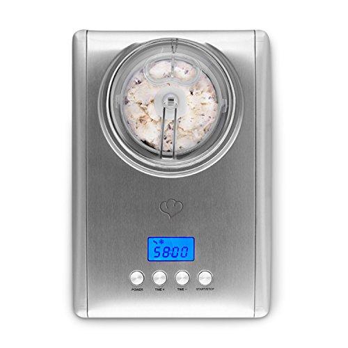 Zum Abkühlen: Eismaschine Emma 1,5 L, selbstkühlender Kompressor, 150 Watt