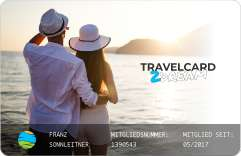 Mit der Travelcard 12 Monate kurzurlauben so oft Ihr wollt