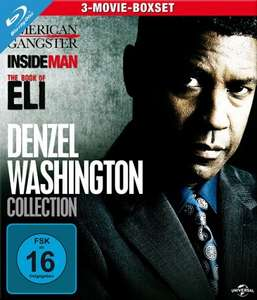 Denzel Washington Collection (3-Movie-Boxset Blu-ray) für 10,87€ (Media-Dealer)