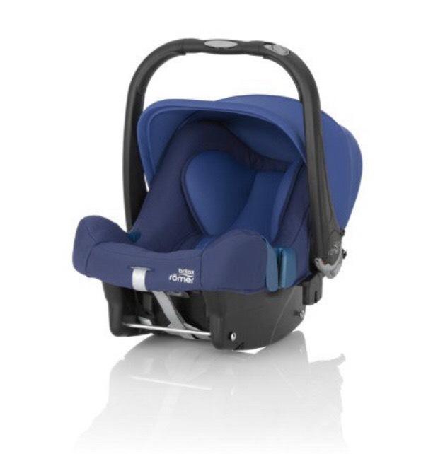Römer/Britax Babyschale Baby-Safe plus SHR II Ocean Blue