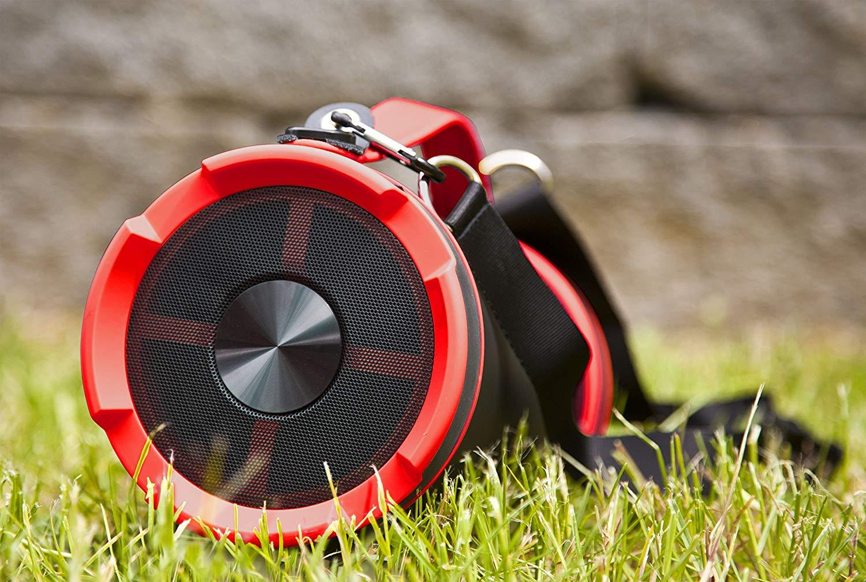 Imperial BEATSMAN | mobiler Bluetooth Lautsprecher mit UKW Radio (2.1 Lautsprecher, Bluetooth 2.1, UKW Radio, MicroSD Kartenleser)