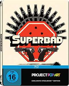 Superbad Limited Edition Gallery Steelbook (Blu-ray) für 6,99€ (Amazon Prime & Saturn & Media Markt)
