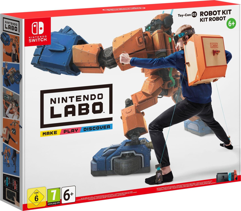 Nintendo Labo: Toy-Con 02 Robo-Set (Switch) für 27,51€ (Amazon IT)