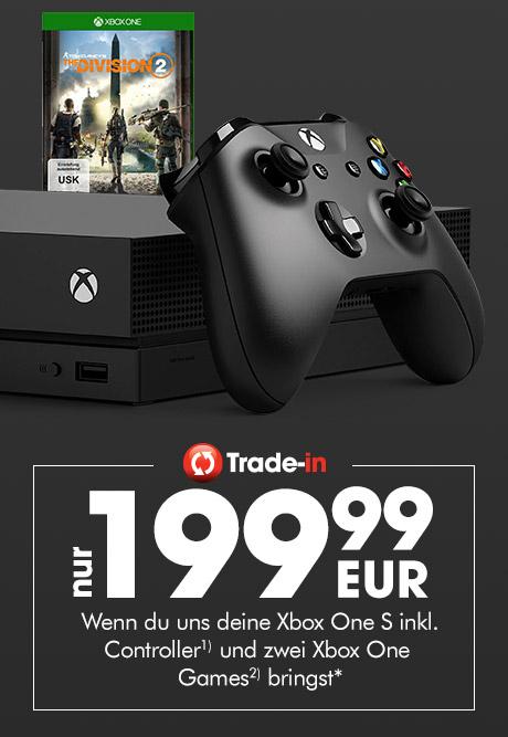 Xbox One X bei gamestop für 199,99€ im trade-in