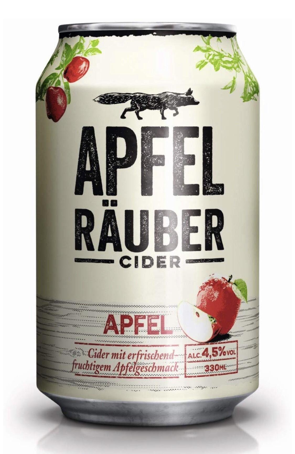 Heineken Apfel Räuber Cider (24 x 0,33l) - Pfandfrei