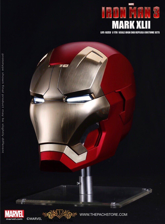 IRON MAN 3 - MK 42 Iron Man Helm