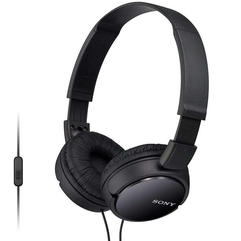 Sony MDR-ZX110AP für 6,99€ + VSK - faltbarer Bügelkopfhörer mit Headsetfunktion