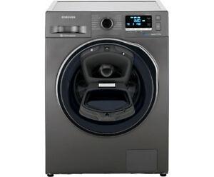 Samsung WW80K6404QX/EG Waschmaschine / A+++ / 116 kWh / Jahr / 1400 UpM / 8 kg / Add Wash / Super Speed Wash / Digital Inverter Motor