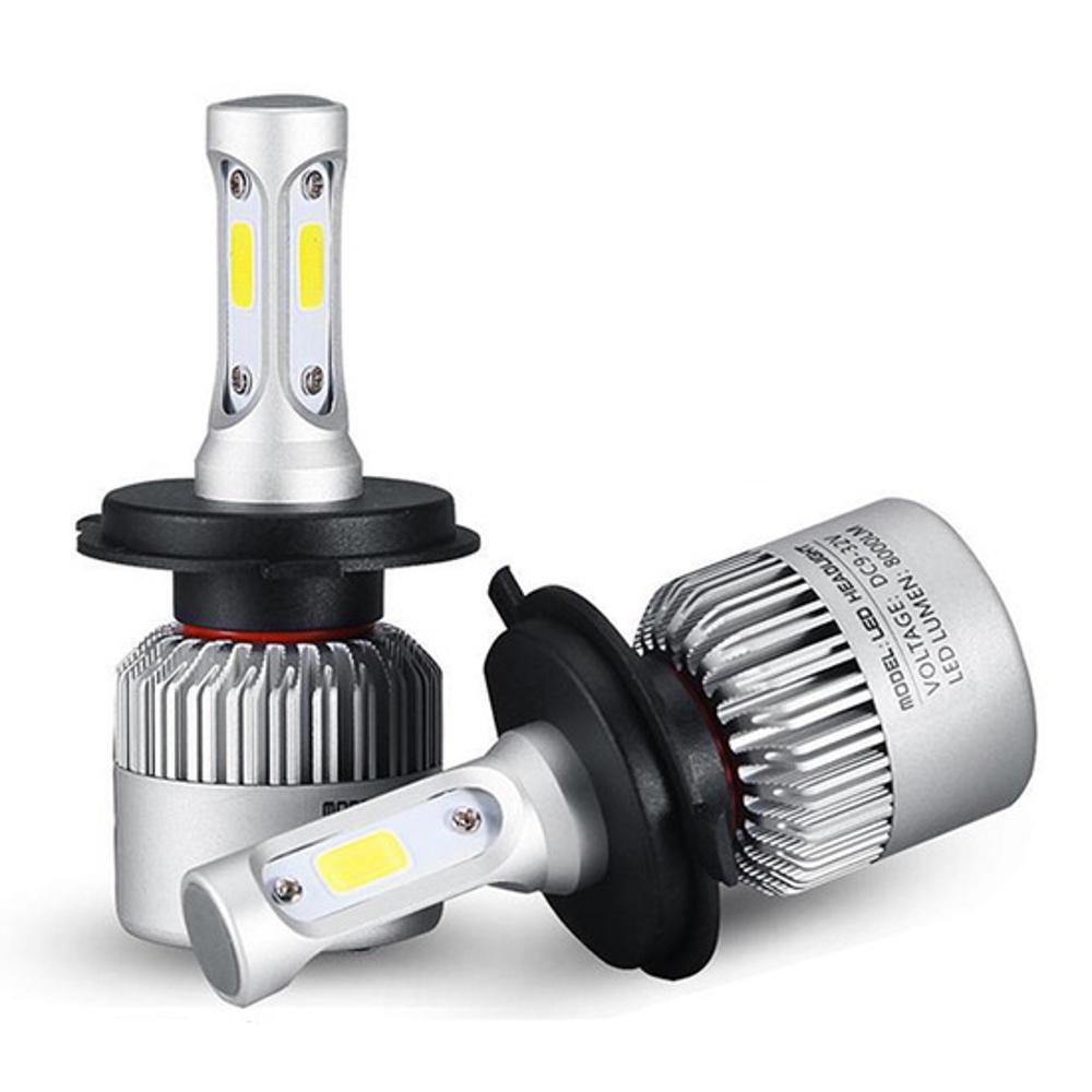 Blitzangebot Paar 36 W 6500K 4500LM H11 H7 H4 HB3 HB4 COB LED Schweinwerfer Lampe