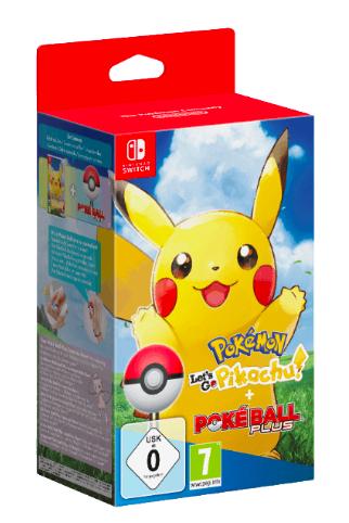 Pokémon: Let's Go, Pikachu! + Pokéball Plus [Nintendo Switch]