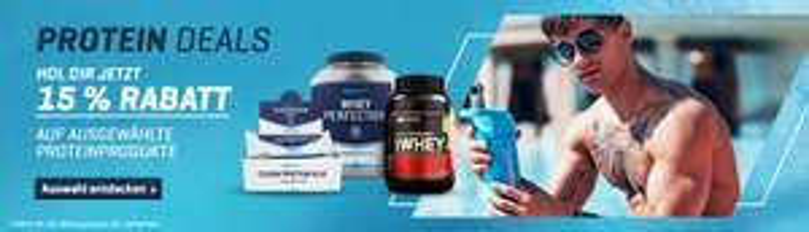 [body&fit] 15% auf ausgewählte Protein-Produkte (+ 10% Gutschein, + 7,5% shoop)