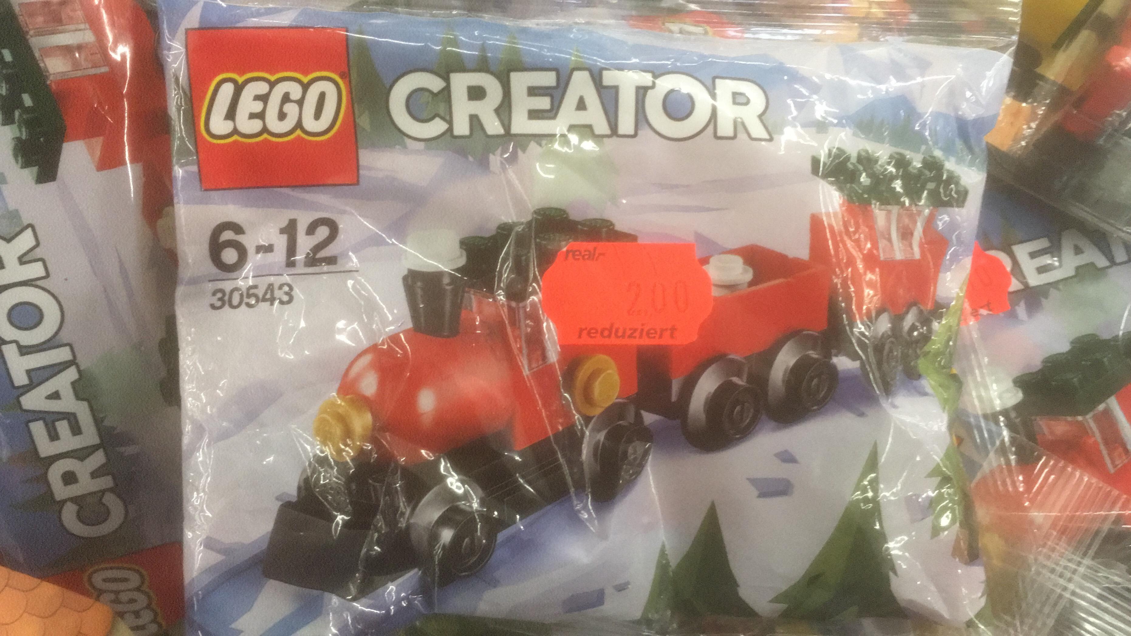 Lego 30543 Creator Weihnachts-Lok Polybag  / EOL / Lokal / Köln