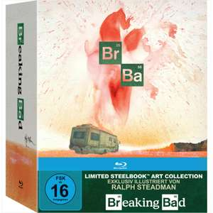 Breaking Bad - Die komplette Serie Limited Steelbook Art Collection Edition (Blu-ray) für 49€ versandkostenfrei (Media Markt)