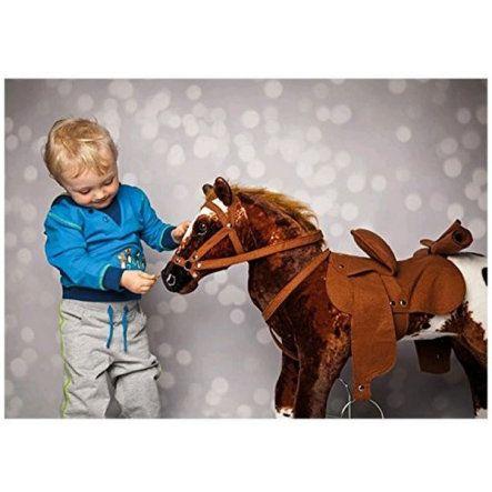 [Babymarkt] HAPPY PEOPLE Cowboypferd Anglo-Araber mit Sound(50 cm Sattelhöhe)