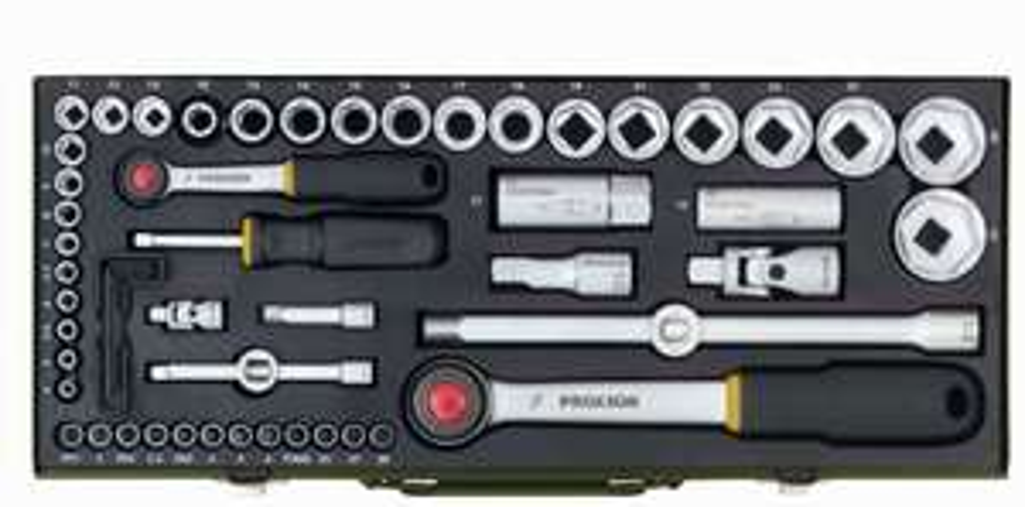 """Proxxon Steckschlüsselsatz 23040 (1/2"""" + 1/4"""" 56-tlg.) für 50€ [Globus Baumarkt]"""