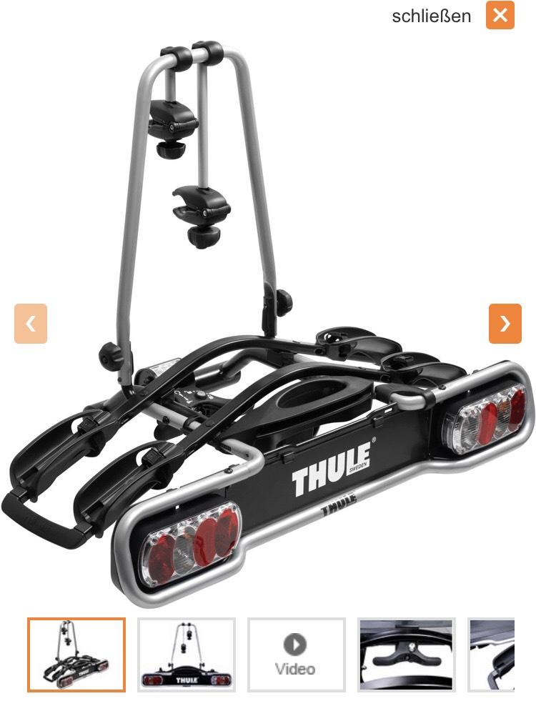 Thule Euroride 920 Fahrradträger für Anhängerkupplung
