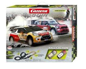 Rally Action go Carrera GO!!!, Autorennbahn mit Citroën DS3 WRC & MINI Countryman