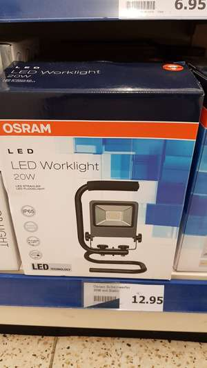 Osram LED Worklight 20W S-Stand [Lokal - Action Märkte]