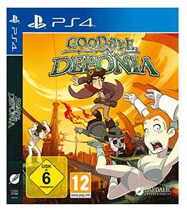 Goodbye Deponia (PS4) für 14,99€ (Amazon Prime & Müller)
