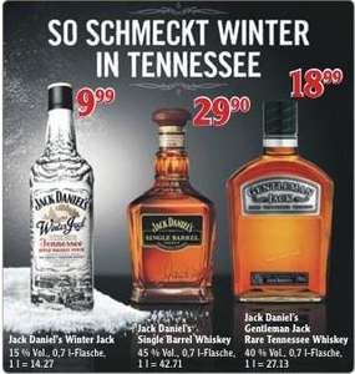 Gentleman Jack 0,7l für 18,99€ im Globus Supermarkt
