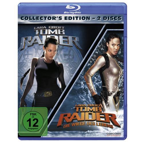 [Amazon] [Blu-Ray] Tomb Raider 1 & 2 (Collector's Edition)