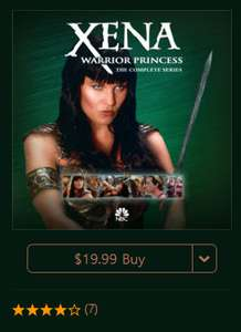 [Itunes US] Xena - Die Kriegerprinzessin - Komplette Serie - digitaler Download - nur OV