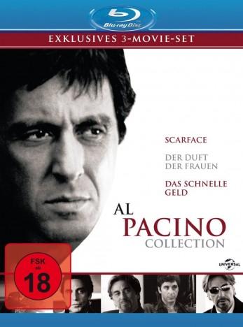 Al Pacino Collection (3-Movie-Boxset Blu-ray) für 11,46€ (Media-Dealer)