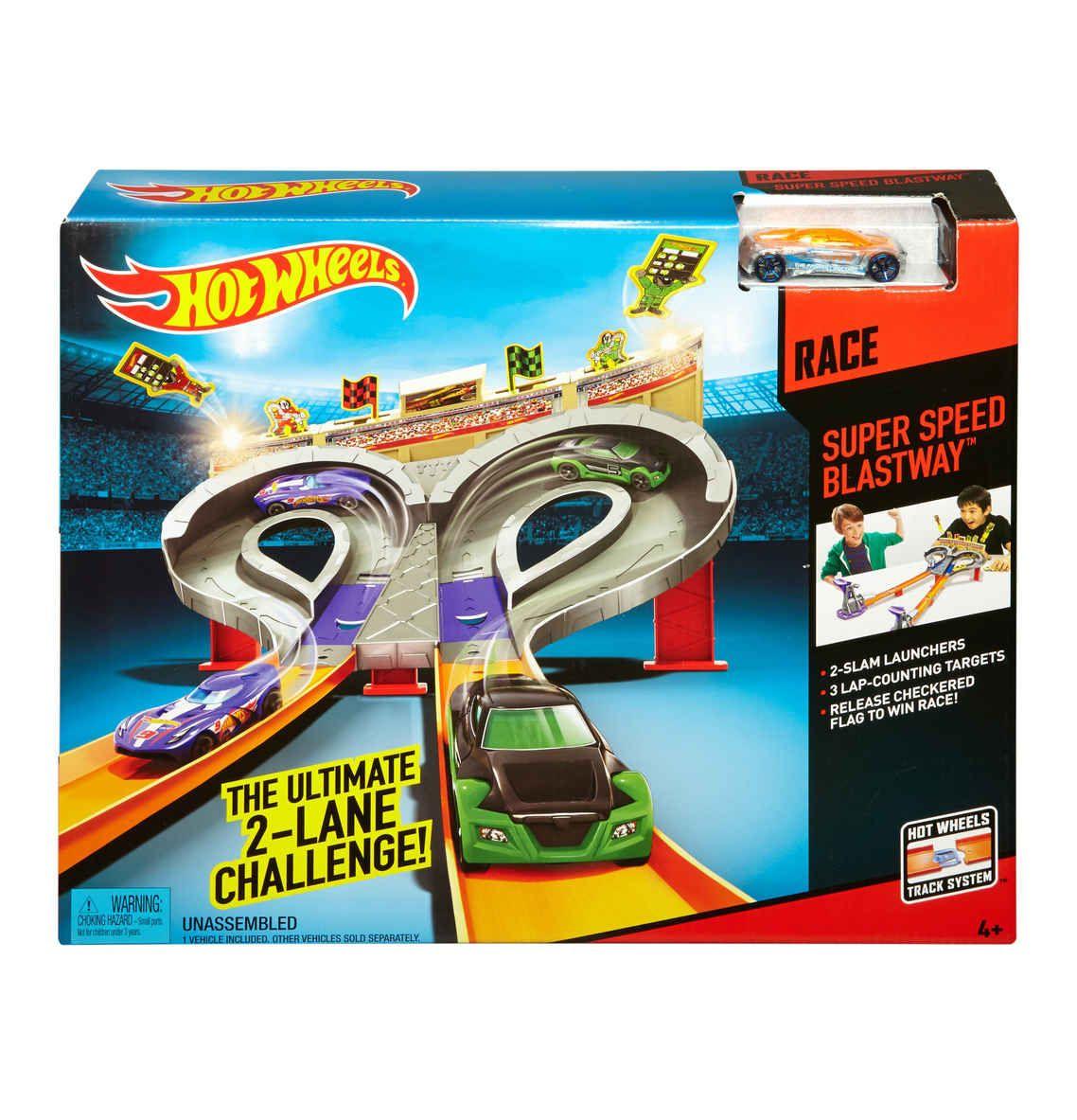 HOT WHEELS Super Speed Blastway Track-Set [12,74 € bei Filialabholung]