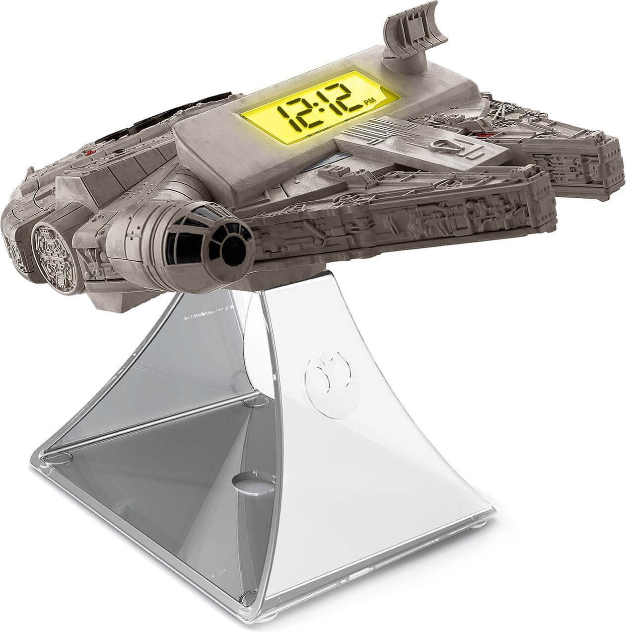 Star Wars Millennium Falcon Radiowecker im Geek Tech Sale - außerdem Darth Vader, BB-8 und andere Bluetoothlautsprecher für 26,68€