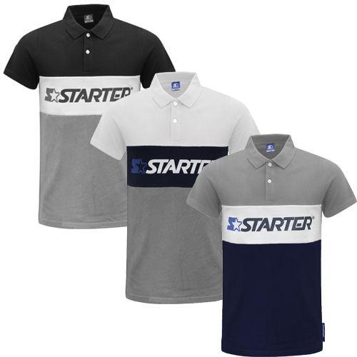 STARTER Herren Polo-Shirt 'Impulse' in 3 Farben für jew. 4,44€